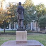 Edgar Odell Lovett Statue at Rice University; Houston, TX.