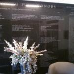 Houston Contractors Association Donor Wall